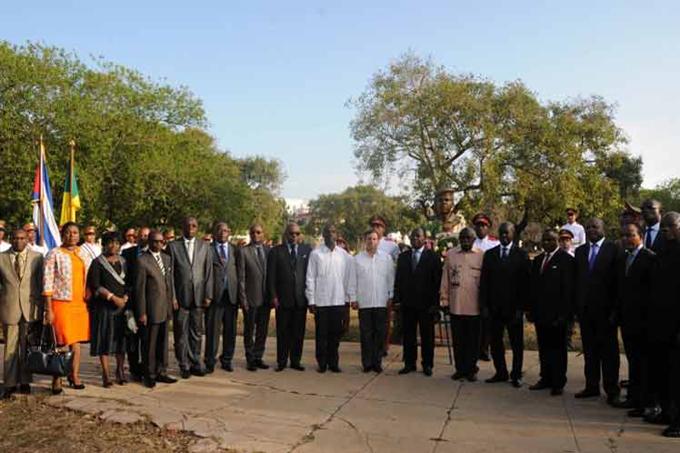 Gobernante del Congo considera indisolubles las relaciones con Cuba (+ Fotos)