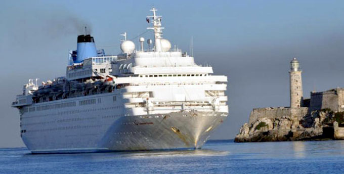Crece en primer trimestre actividad de cruceros en Cuba