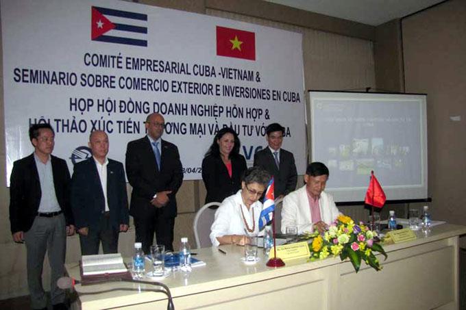 Nuevas acciones para mayores nexos económicos Vietnam-Cuba