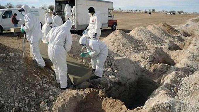 Más de 800 fosas clandestinas registradas en México