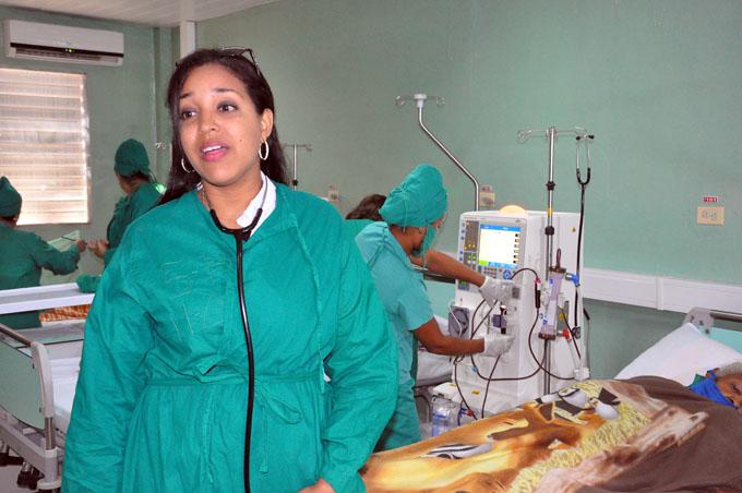Sala de hemodiálisis de Santa Rita: Para una vida mejor
