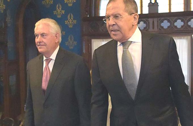 Encuentro Lavrov-Tillerson: todo igualito
