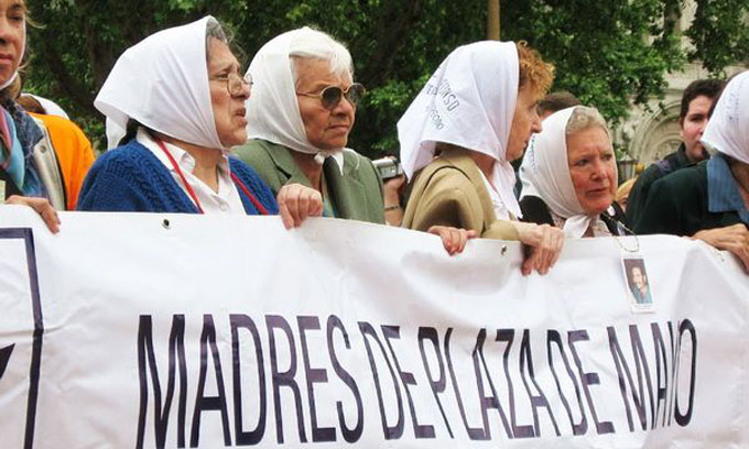 Madres de Plaza de Mayo conmemorarán 40 años de lucha