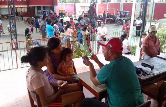 Intensa labor de brigada médica cubana en primeras semanas en Perú