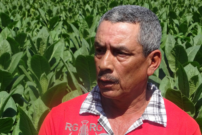 Norberto Pacheco creció con el trabajo
