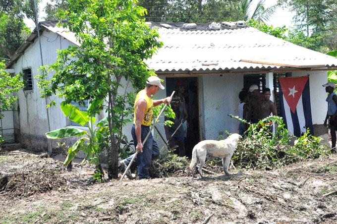 De vuelta a la cotidianidad Pilón, tras inundaciones