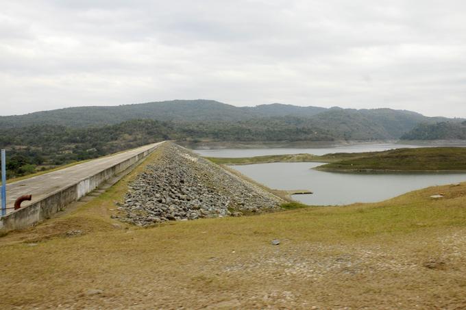 Granma con poca agua en embalses, a pesar de lluvias recientes