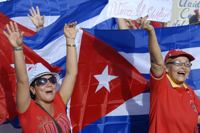 Primero de mayo: Desfiles por la Patria