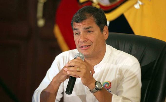 Oposición busca impedir continuidad de la revolución, afirma Correa