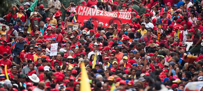 Pueblo bolivariano marcha hoy en defensa de la independencia y contra planes golpistas