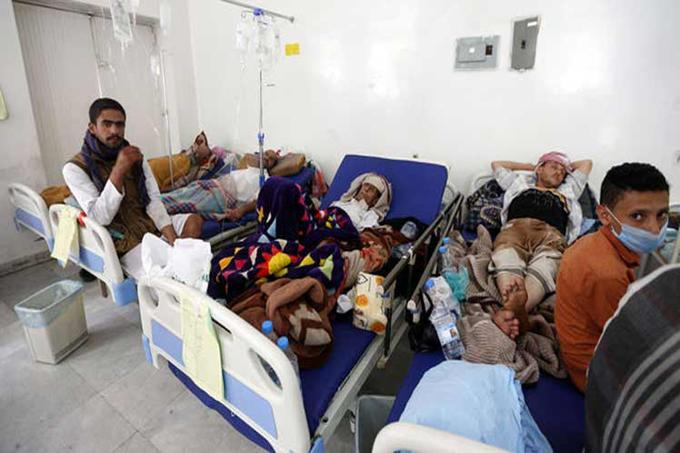 Declaran estado de emergencia por cólera en capital de Yemen