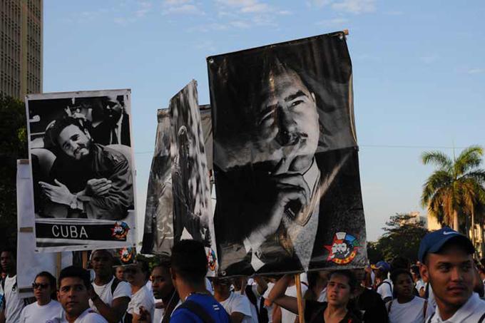 Masivo respaldo a la Revolución en festejos por el 1 de Mayo en Cuba (+fotos)