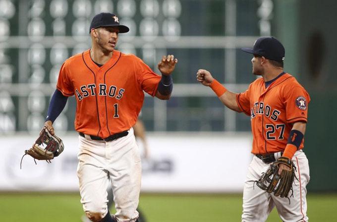 Astros y Yankees en serie entre líderes del béisbol estadounidense