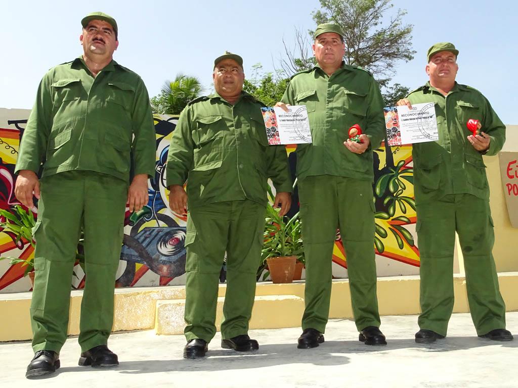 Clausuran en Granma Jornada Nacional de Protección contra Incendios