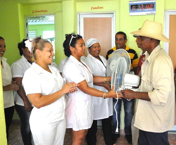 Organizaciones campesinas de Granma contribuyen a mejorar consultorios médicos (+foto)