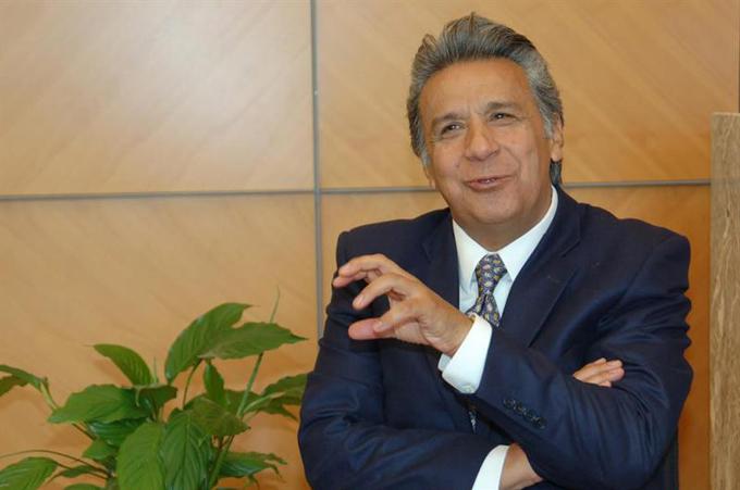 Lenín Moreno presentará gabinete durante su investidura presidencial