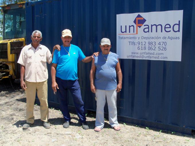Instalan planta desalinizadora de agua en comunidad rural de Cauto Cristo