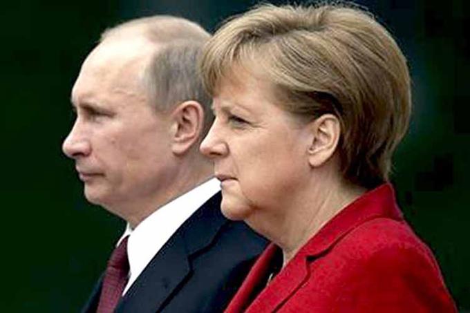 Terrorismo, Siria y Ucrania a cita de Putin y Merkel en Sochi