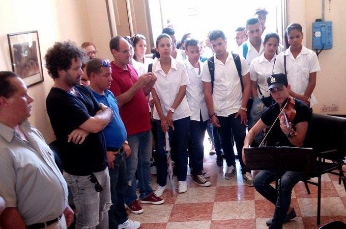 Impresionado Raúl Paz con la vanguardia artística en Bayamo(+ fotos y videos)
