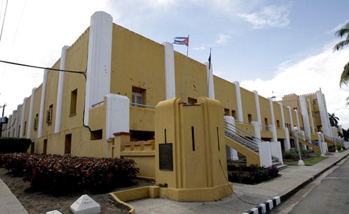 Visita Rafael Correa Cuartel Moncada en Santiago de Cuba