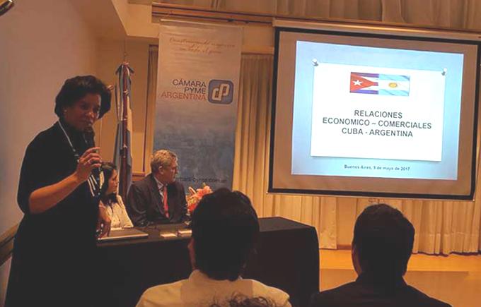 Sesiona en Buenos Aires encuentro comercial Cuba en Argentina (Fotos)