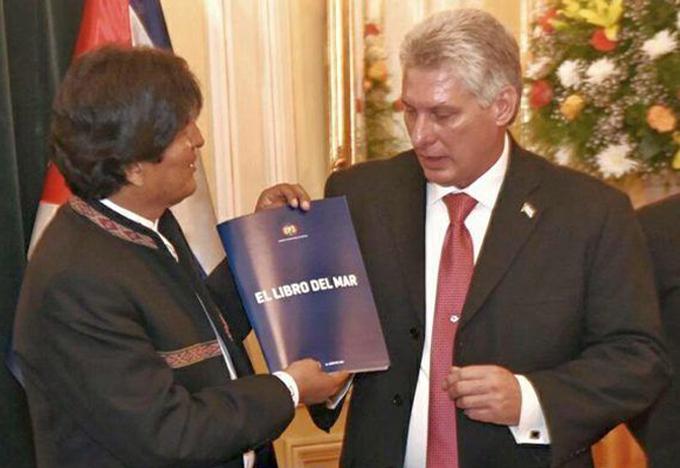 Concluyó visita a Bolivia primer vicepresidente cubano (+ Fotos)