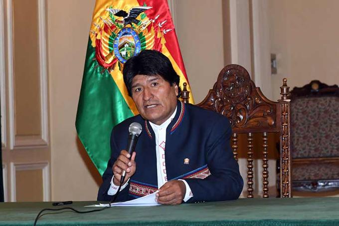 Evo Morales presenta plan de empleos para varios sectores en Bolivia