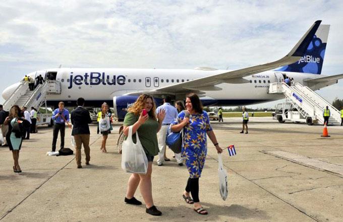 Crece cifra de estadounidenses que viajan a Cuba pese al bloqueo