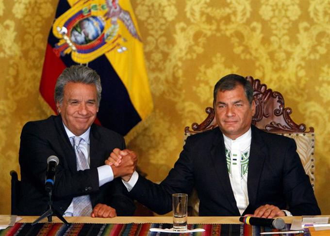 Asume Lenín Moreno presidencia de Ecuador (+fotos)