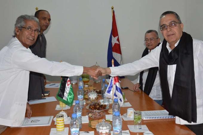 Vicecanciller cubano en visita oficial a la Rasd ( +Fotos)