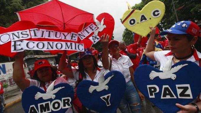 Pueblo revolucionario de Venezuela realiza hoy marcha por la paz