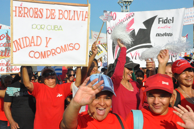Marcharán este 1 de mayo miles de cubanos en defensa del socialismo