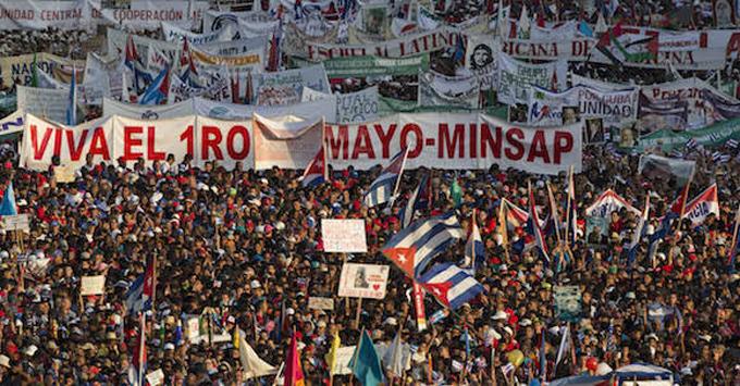 Toda Cuba en Primero de Mayo