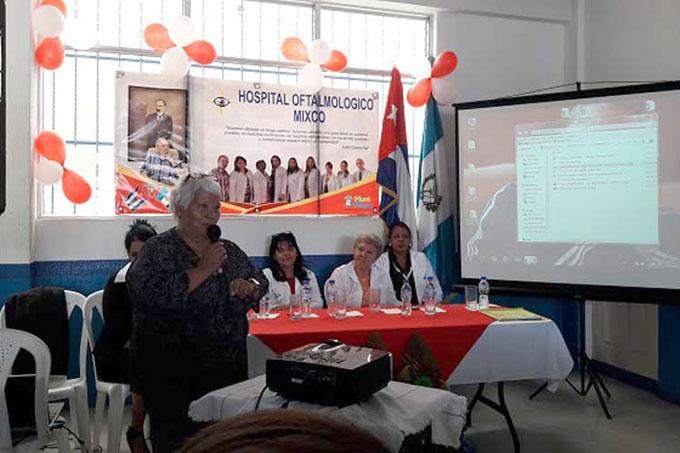 Oftalmológico de Mixco: prodigios de los médicos cubanos en Guatemala
