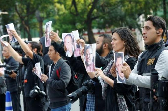 Condenan impunidad en crímenes contra periodistas en México