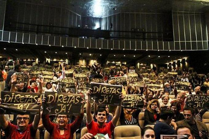 Al menos 90,6 % de los brasileños quiere elecciones directas
