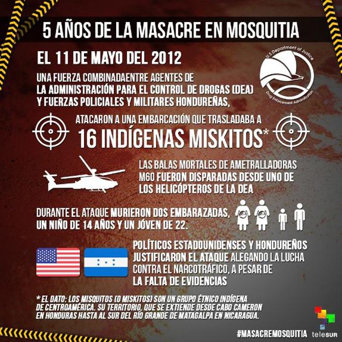 La masacre de la DEA en Mosquitia, Honduras, aún sin justicia (+ fotos)