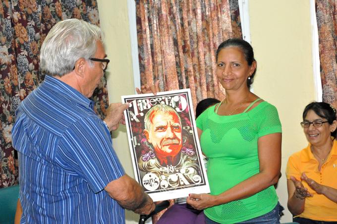 Celebran comités de solidaridad en Granma liberación de Oscar López