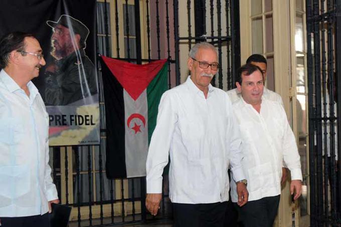 Ratifican en Cuba continuidad de la lucha del pueblo árabe saharaui(+Fotos)