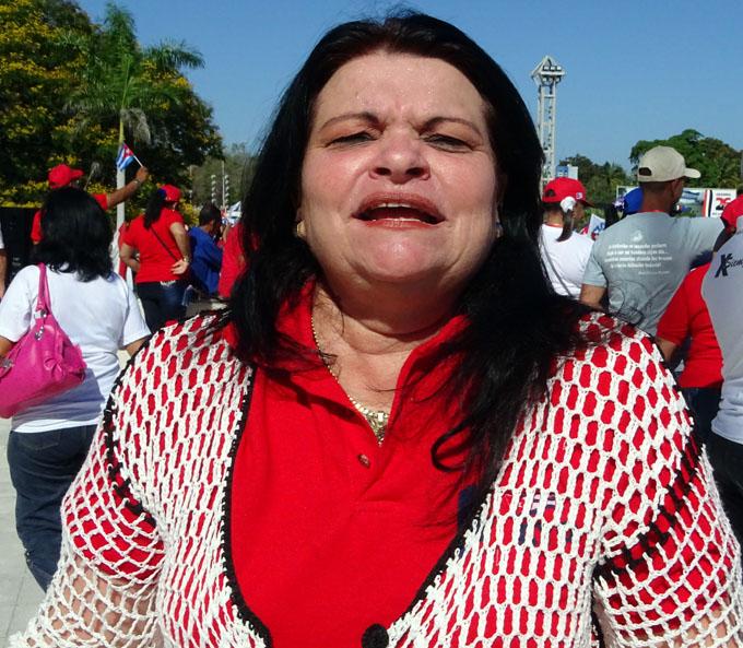 He visto un gran desfile en Bayamo
