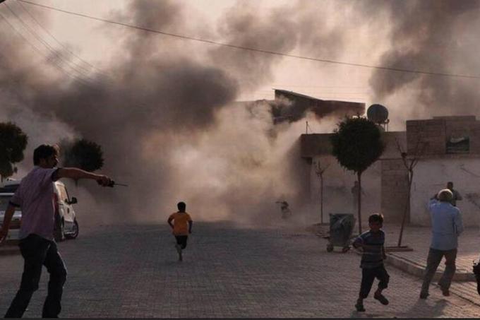 Mueren 22 sirios por bombardeos de coalición que lidera EE.UU.
