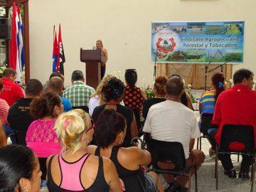 Día del Trabajador Tabacalero: ¡A lograr eficiencia! (+foto)
