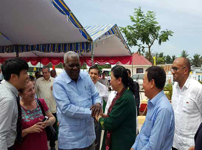 Misión parlamentaria cubana constata logros de provincia vietnamita