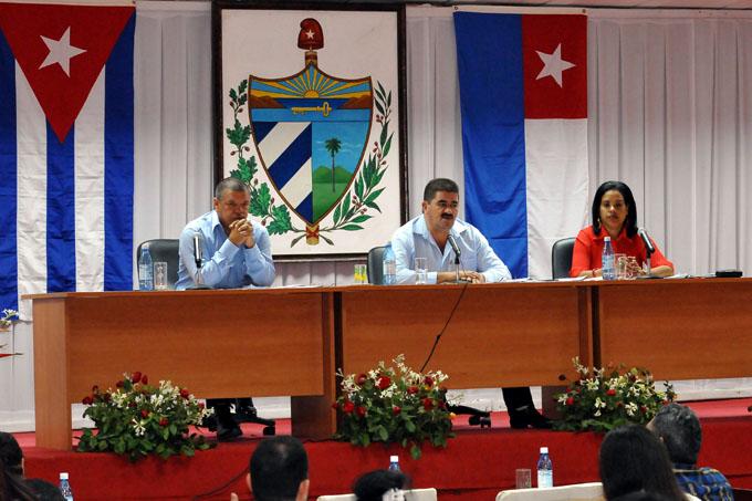 Sesiona Asamblea del Poder Popular en Granma