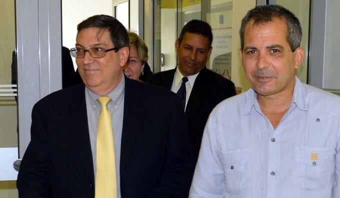 Ministro cubano Bruno Rodríguez llega a Austria en visita de trabajo