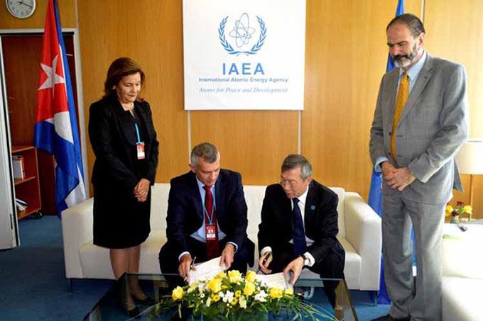 Cuba y OIEA firman acuerdo de cooperación técnica
