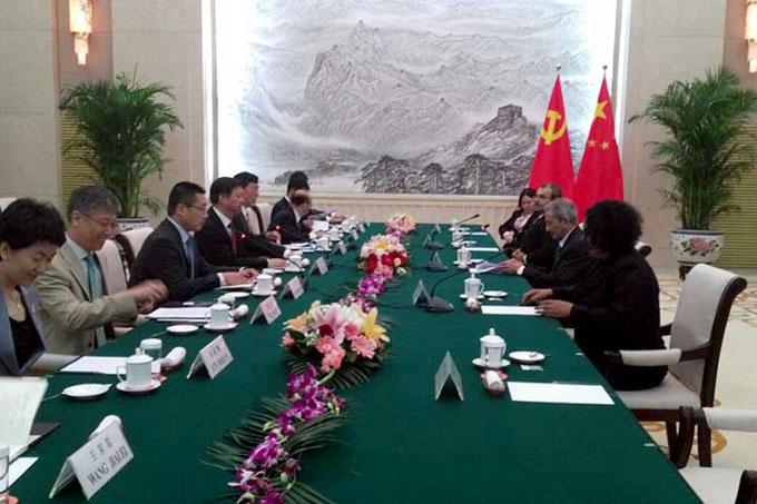Partidos Comunistas de China y Cuba por afianzar vínculos
