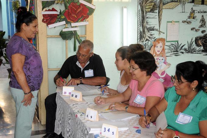 Actualizan Registro Electoral para próximas elecciones en Cuba