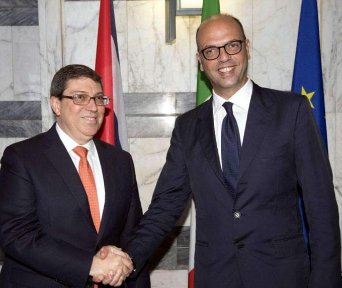 Prosigue canciller cubano visita oficial a Italia