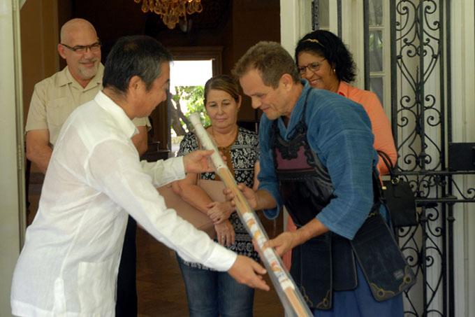 Federación de Kendo de Japón dona equipos para su práctica en Cuba
